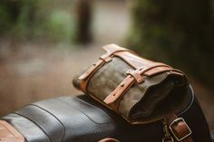 Pack Animal is a Seattle company designing and manufacturing motorcycle  travel goods including saddle bags, tool rolls, wallets, and other  accessories.
