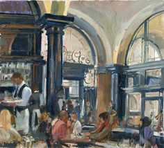 The Wolseley - Nick Botting The Wolseley, Edouard Vuillard, Art Studies, Deli, Interior And Exterior, Collections, Cozy, Restaurant, Paintings