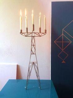Electro/candlestick. Hochurayu & Kril Deco #hochurayu #happy #fridayworkflow #presenttoday #productdesign @krildeco #candlestickhochurayu #madeinukraine
