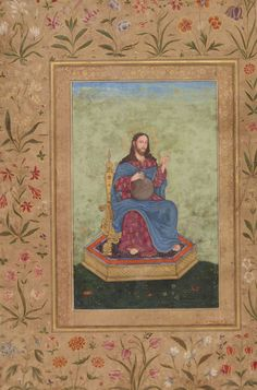 Unknown Mughal artist. Christ the Saviour, India (ca. 1630-40)