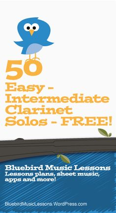 Want some free clarinet sheet music for beginner though intermediate level? Here's a list of sheet music that you get print completely free. Some pieces will include a piano accompaniment and… Basic Guitar Lessons, Music Lessons For Kids, Acoustic Guitar Lessons, Music Lesson Plans, Piano Lessons, Acoustic Guitars, Guitar Art, Guitar Chords, Free Clarinet Sheet Music
