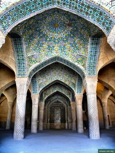 Vakil Mosque in Shiraz by javiergme