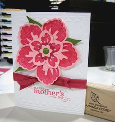Krafting Kreations: Pink Mother's Day Flower