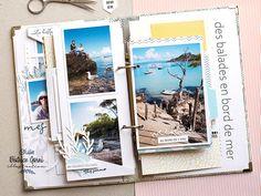 Mini Albums Scrapbook, Scrapbooking, Julie, Jolie Photo, Creations, Illustration, Digi Stamps, Mint Color, Adventure