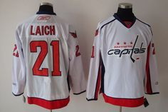 d4bf5960e Washington Capitals 21 Brooks LAICH Road Jersey