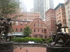 Downtown Crossing in Boston, MA