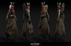 - model i did for The Witcher 2 - Assassins of Kings game Character Concept, Character Art, Concept Art, Witcher Monsters, Witcher Tattoo, Puffy Shirt, Video Game Artist, The Witcher Wild Hunt, The Witcher Geralt