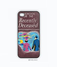 iPhone 5 Case, iPhone 5s Case - Beetlejuice Handbook for the recently deceased