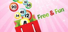 Jogue #OnlineBingo livre e preencher um pouco de diversão em sua vida entediante