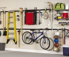 Don't become the next 'Hoarders' celebrity - transform the heaping mess known as your garage into the cleanest room in the home with the garage organization...