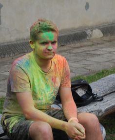 """Kolorowo i ciekawie w jarosławskim """"Plastyku"""" - festiwal kolorów.  #jarosław #podkarpacie"""
