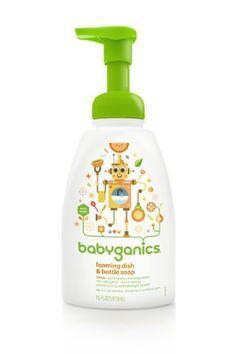 BabyGanics - Foaming Dish  Bottle Soap The Dish Dazzler Citrus - 16 oz., https://www.amazon.com/dp/B00B1LXWH0/ref=cm_sw_r_pi_awdm_Gu3Jtb1VSE1W4