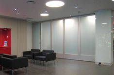 folding glass partition-Hufcor glasswall-McGill