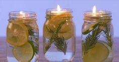 Los mosquitos no pueden soportar ESTA mezcla secreta que hay en los tarros ( Se pueden usar velas flotantes )+++