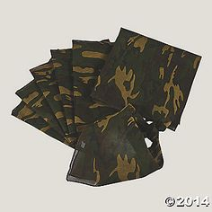 Camouflage Bandanas  IN-15/22 4.3 / 5 4.3 / 5 Open Ratings Snapshot Read all reviews Write a review Camouflage Bandanas. Perfect for...