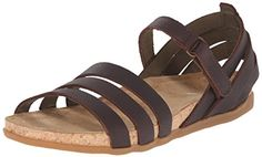 El Naturalista Womens NF42 Zumaia Flat Sandal Brown 39 EU885 M US * Learn more by visiting the image link.