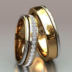 Classic Wedding Rings, Celtic Wedding Rings, Beautiful Wedding Rings, Wedding Ring Bands, Engagement Rings Couple, Diamond Engagement Rings, Diamond Rings, Couple Rings Gold, Solitaire Engagement