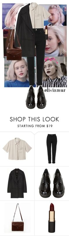 """""""I triedNoora Sætre p.1"""" by oliviamur ❤ liked on Polyvore featuring Monki, Topshop, Proenza Schouler, Stuart Weitzman, Mimco, red, LIPSTICK, oliviamur, noora and skam"""
