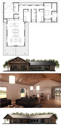 Home Plans, New Home Designs, Modern Houses, New Home Decor, Home Plan