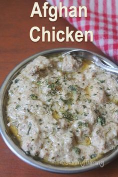 Afghan Chicken Recipe – How to Make Afghani Chicken at Home - Delicious recipes Afghan Food Recipes, Veg Recipes, Curry Recipes, Vegetarian Recipes, Cooking Recipes, Dishes Recipes, Healthy Cooking, Delicious Recipes, Tasty