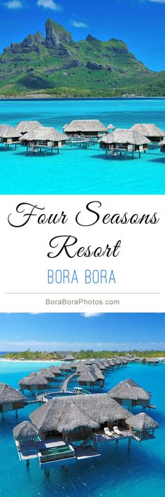 The most incredible vacation experience one can imagine, the FourSeasons BoraBora Vacation Places, Vacation Destinations, Vacation Trips, Dream Vacations, Vacation Spots, Places To Travel, Bora Bora, Tahiti, Oh The Places You'll Go