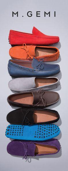 dfc44e5c583d Men s Italian Leather   Suede Driving Shoes