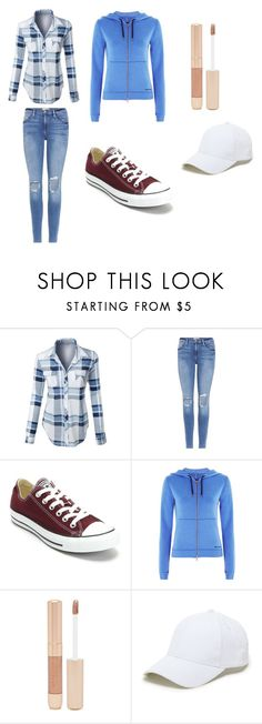 """Outdoor casual"" by otakuprincess997 ❤ liked on Polyvore featuring LE3NO, Frame, Converse, Ivy Park, Forever 21 and Sole Society"