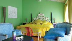 Amazing color! Byblos Art Hotel Villa Amistà - Verona, Italy