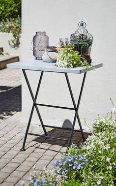 Plantentafel RUSTAND 45x66x73 zink | JYSK