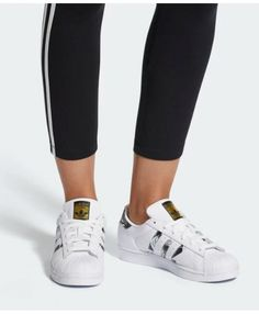 cheaper 80c06 96c9d Adidas Womens Originals Superstar W White Black Gold Metallic Shoes Cheap  Adidas Nmd, Adidas Men