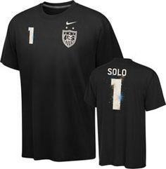 oooOOOOOooooooOOO  United States Soccer Women's Hope Solo Black Nike Name and Number T-Shirt $27.99  http://www.fansedge.com/United-States-Soccer-Womens-Hope-Solo-Navy-Nike-Name-and-Number-T-Shirt-_-1990609227_PD.html?utm_content=pla=pinterest_pfid25-10585