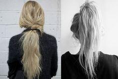 A Hair Style We Love: The Messy Ponytail  Source: How To Do A Messy Ponytail – Messy Ponytail Inspiration | Free People Blog