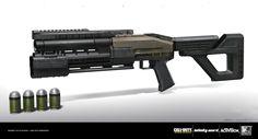 ArtStation - CoD: Infinite Warfare Grenade Launcher, Benjamin Last