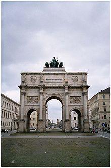 Schwabing in Munich Germany -