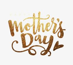 Vector Mother 's Day Happy Metal English