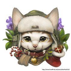 Kitty badge by *Silverfox5213 on deviantART