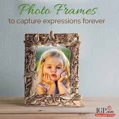 Capture the moment that will make you smile time and again! #GiftPhotoFrames