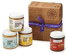 Honey Spread Gift Set, irresistible pure honey from a small apiary (ad)