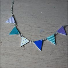 Image of Summer Bunting Necklace