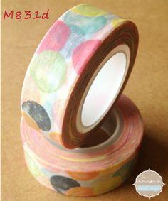 Washi Tape Lunares Pastel