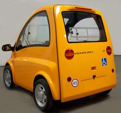 This Awesome Tiny Car Has A Secret: Its Driver Is In A Wheelchair | Co.Exist | ideas + impact