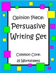 persuasive essay notes