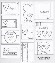 Paper Smooches: Designer Drafts 4