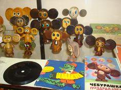 Чебурашка: деревянный. Поиск игрушек, детских книг и настольных игр СССР -  http://doska-obyavleniy-detstva.blogspot.ru/ #игрушки_дерево