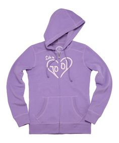 Loving this Soft Purple All Good Zip Hoodie on  zulily!  zulilyfinds Soft  Purple 1041802a6ac
