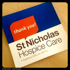 Custom Printed Collection Bucket Labels for St. Nicholas Hospice Care - - - - - St. Nicholas Hospice Care is a local charity which helps people live with life threatening and terminal illnesses. They need to raise £4.5million per year. - - - - - Find out more about Charnwood Catalogue's custom printed collection bucket labels here: http://www.charnwood-catalogue.co.uk/products/258-custom-printed-collection-bucket-front-labels