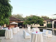 Wedding cocktail at Reserva Conchal Pool
