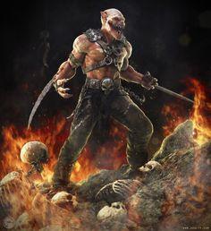 Baraka  - Mortal Kombat - soulty666.deviantart.com