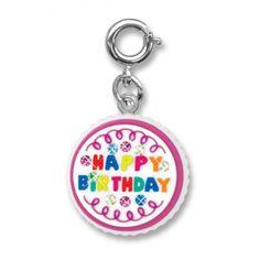 Charmit Happy Birthday Cake Charm - $5.00