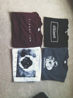 This makes me v happy because pop punk band t's on pinterest is something I have never seen before and it's here